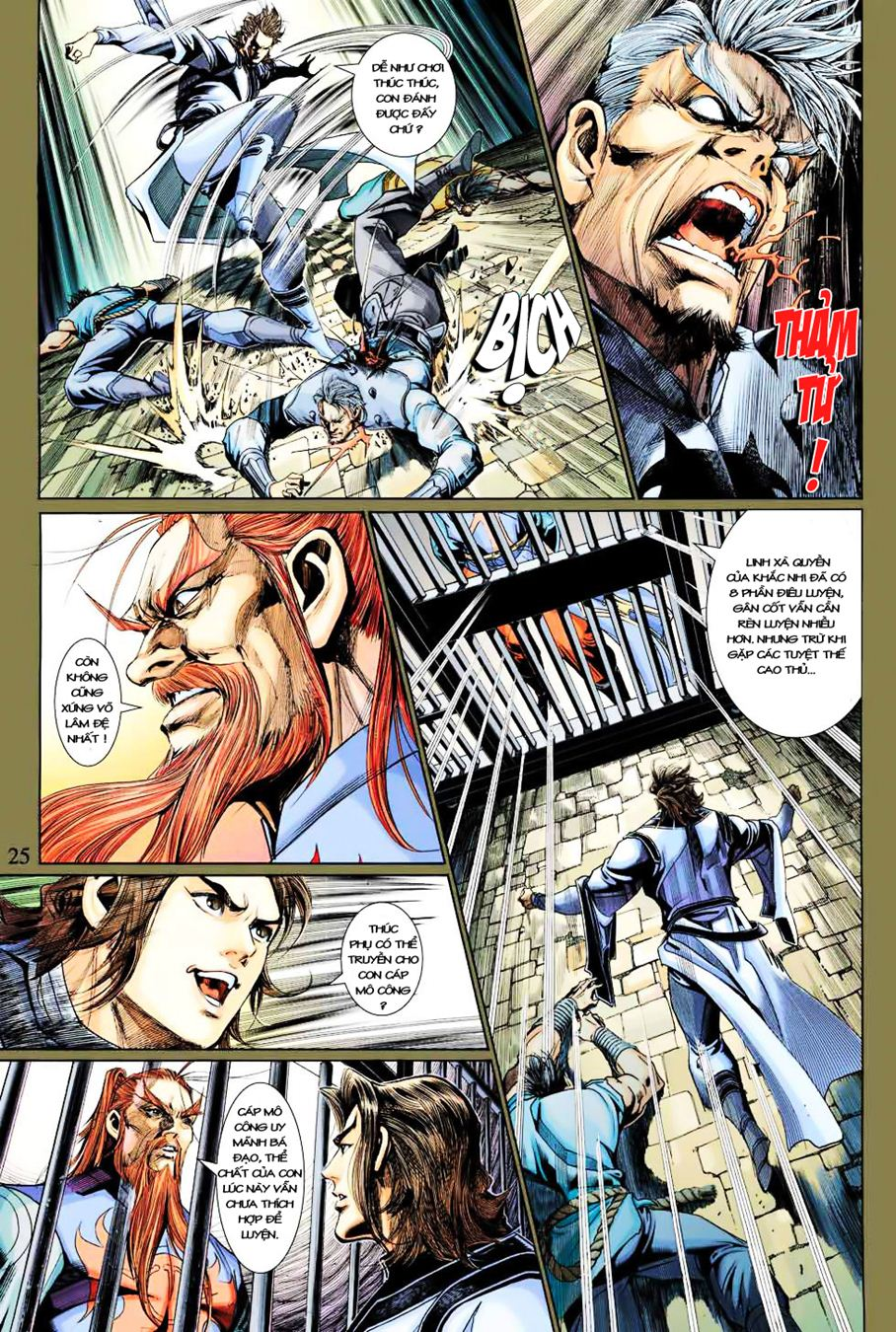 Anh Hùng Xạ Điêu anh hùng xạ đêu chap 35 trang 25
