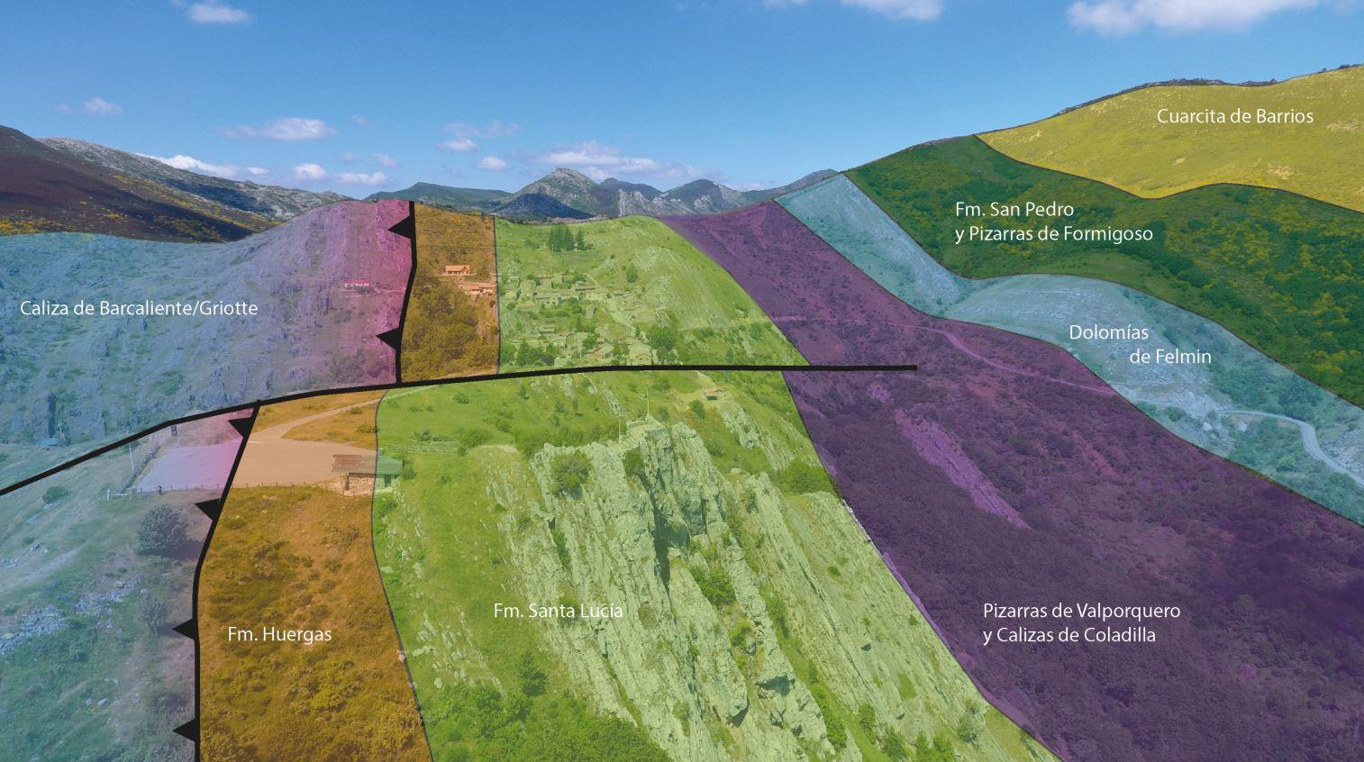 Geolod a le n 17 valporquero la magia del agua sobre la roca for Formacion de la roca