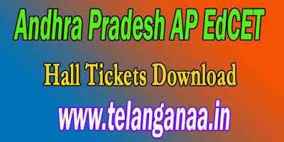 Andhra Pradesh Ed.CET Hall tickets 2019 Hall Tickets Download