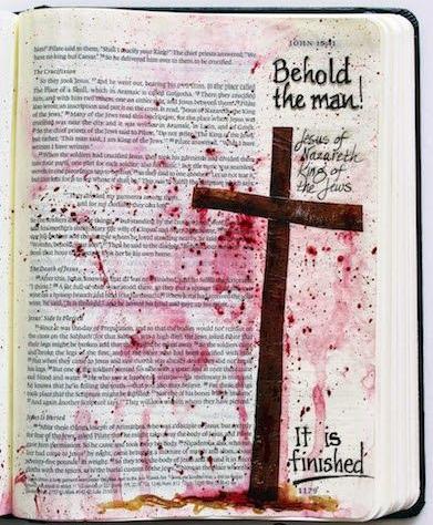Cross. Bible. Jesus. Blood