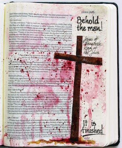 Cross. Bible. Jesus. Blood