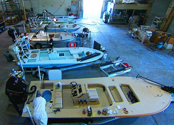 Beavertail Skiffs Factory