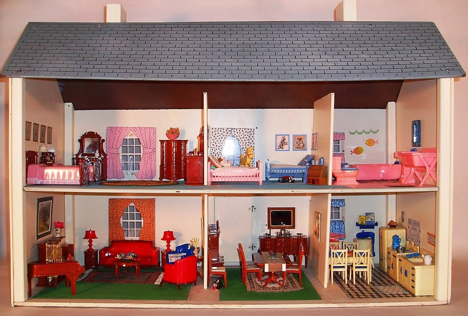 Toys For House : My vintage dollhouses rich toys houses