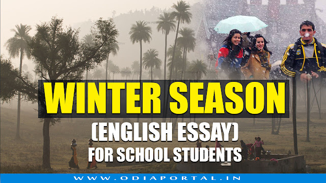"""The Winter Season"" - Short Essay in English for School/College Students"