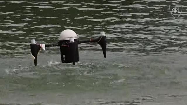 Drone amfibi