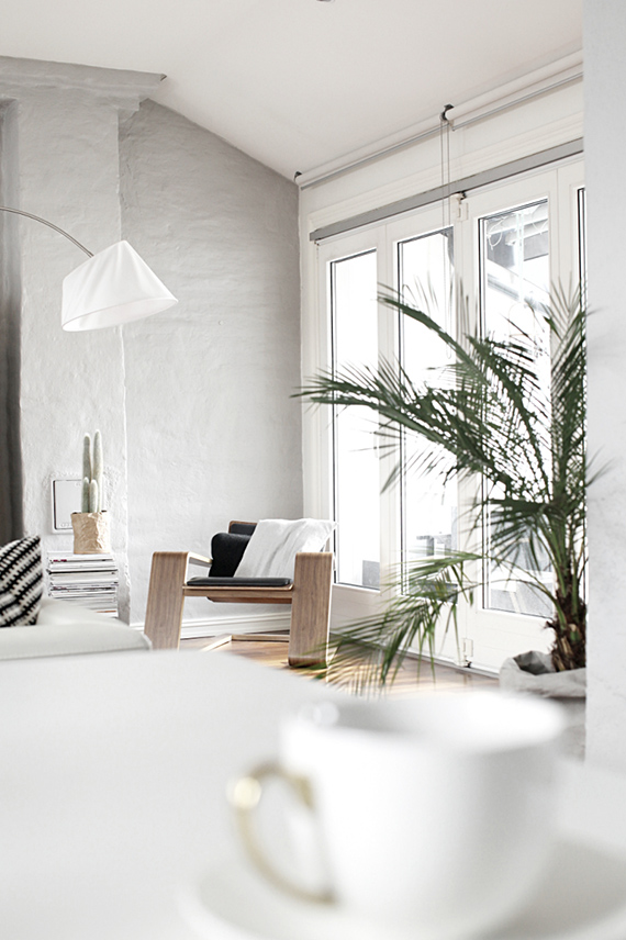 Living with greens | Image via Designlykke