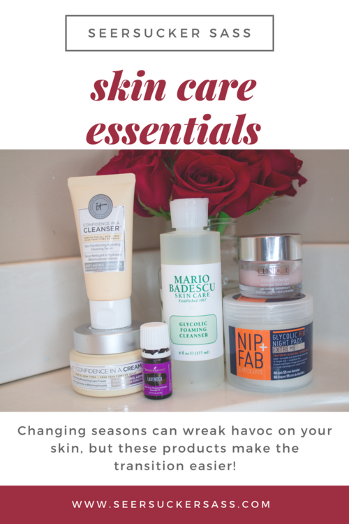 Skin Care Essentials for Changing Seasons