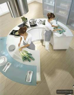 Round Countertop Kitchen 2