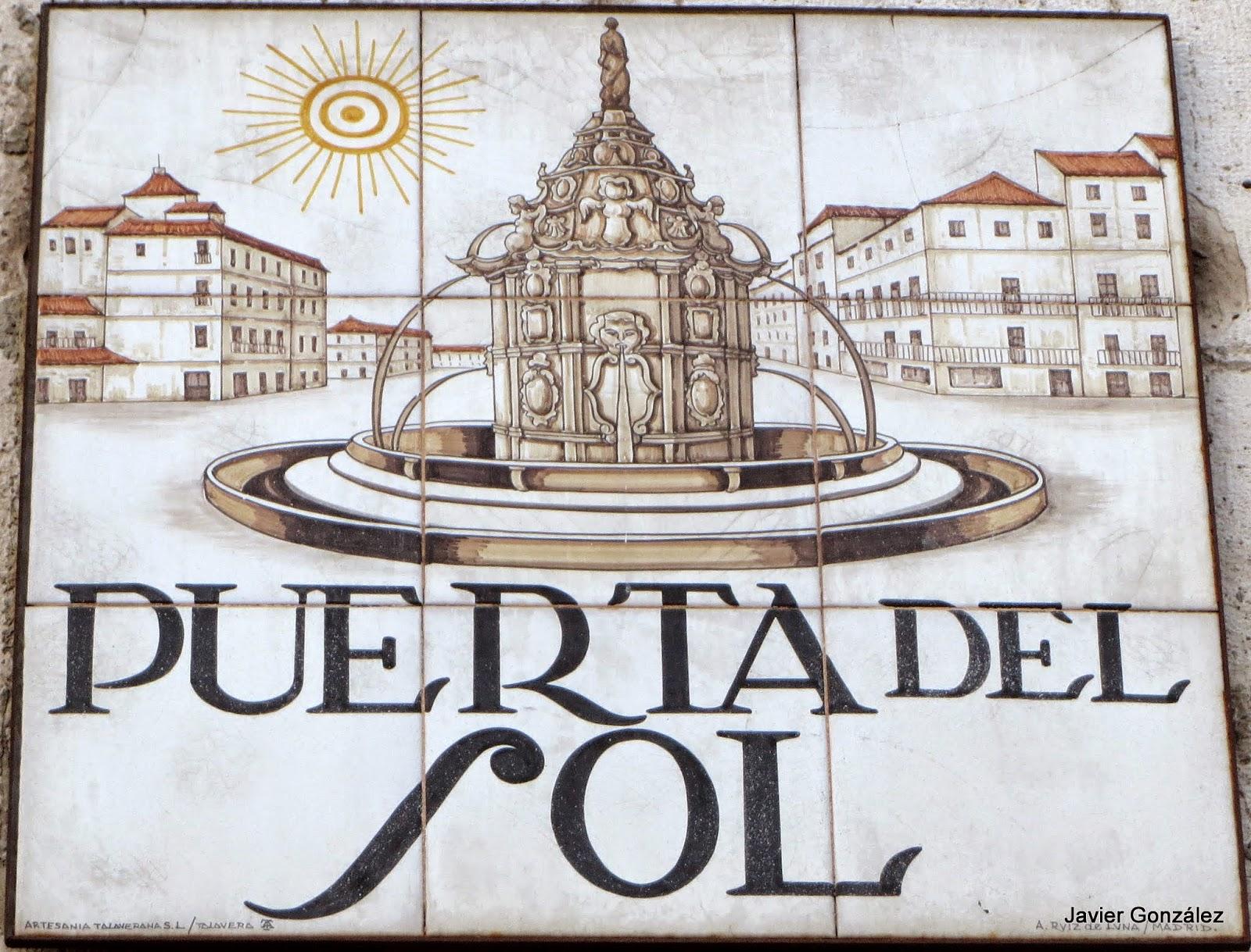 Puerta del Sol. Madrid