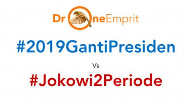 #2019GantiPresiden Kalahkan #Jokowi2Periode