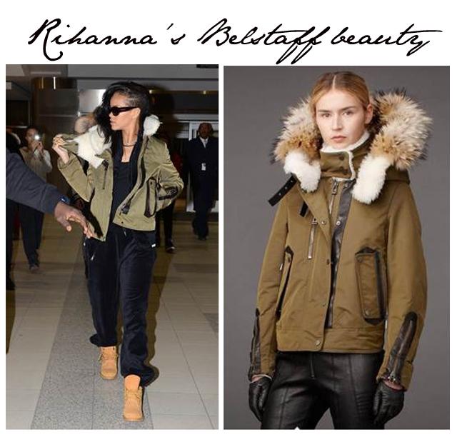 Rihanna Belstaff Jacket