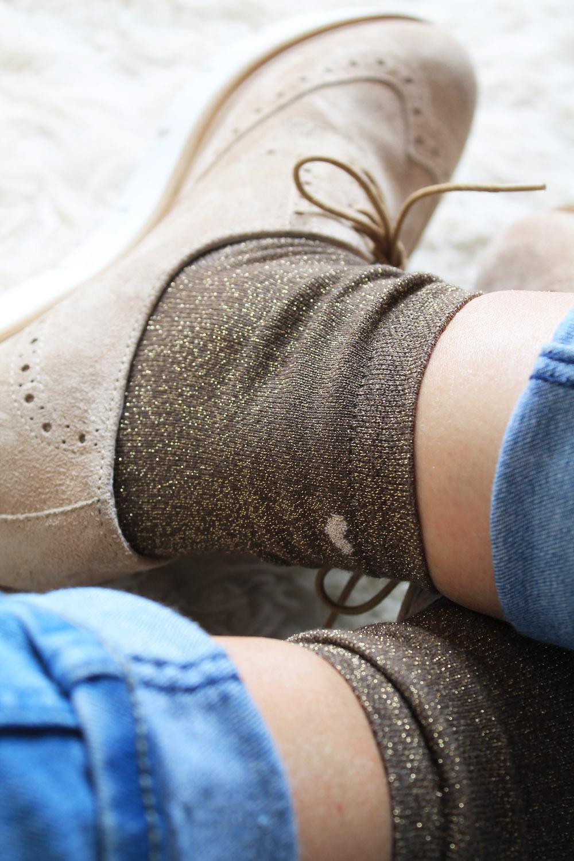 brown-gold-glitter-socks