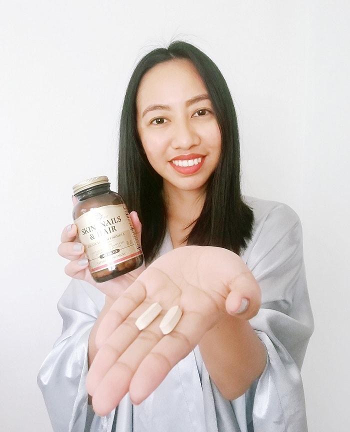 solgar review, hair skin and nails vitamins supplements