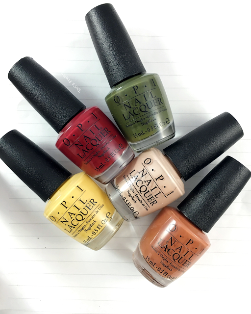 Tori's Pretty Things// OPI Washington DC Collection