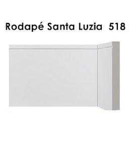 Rodapé Branco na Vila Maria