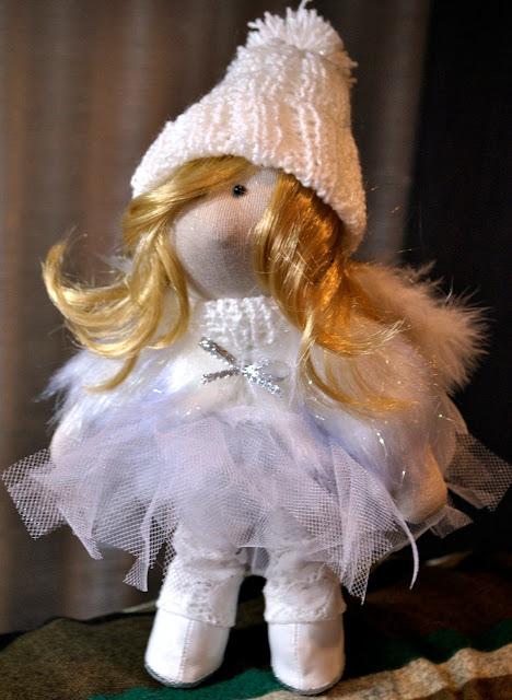 кукла, ангел, кукла своими руками, кукла Е.Гридневой