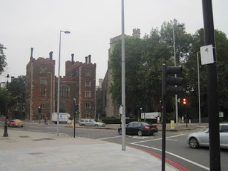 Kids? Lambeth Palace.  And there's Big Ben and there's Parliament.
