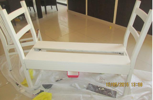 IMG 0393 - בניית ספסל משני כיסאות