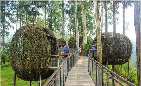 1. Dusun Bambu Lembang Bandung