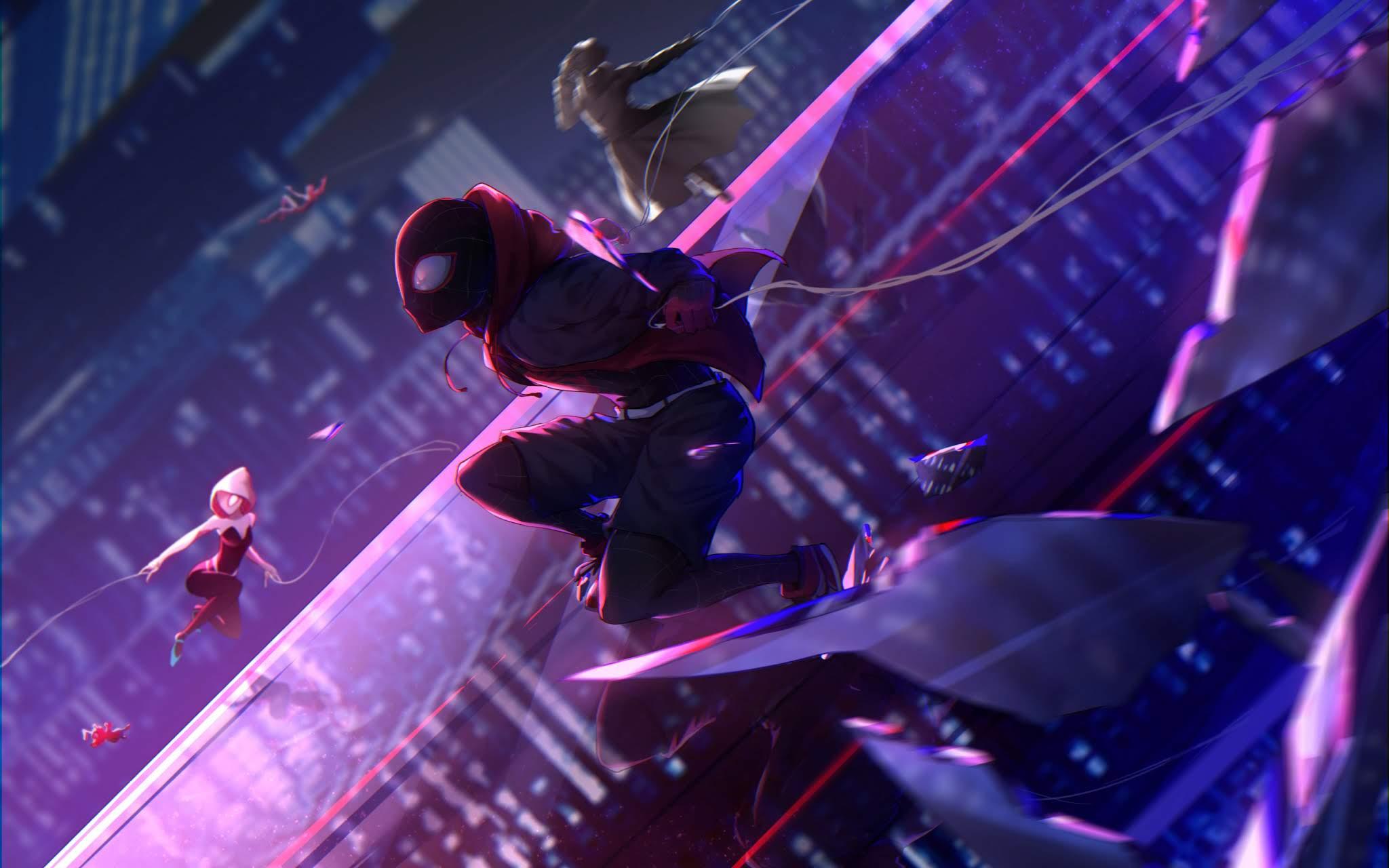 Wallpaper Homem-Aranha: No Aranhaverso