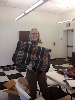 Sarah_Buffington_OEV_Curator_with_carpet_for_Rapp_House