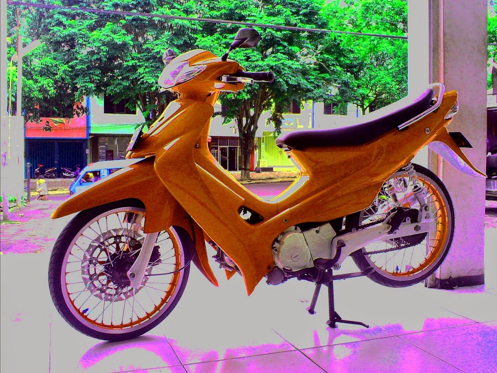 Gambar Modifikasi Suzuki Smash Klasik Modifikasi Motor