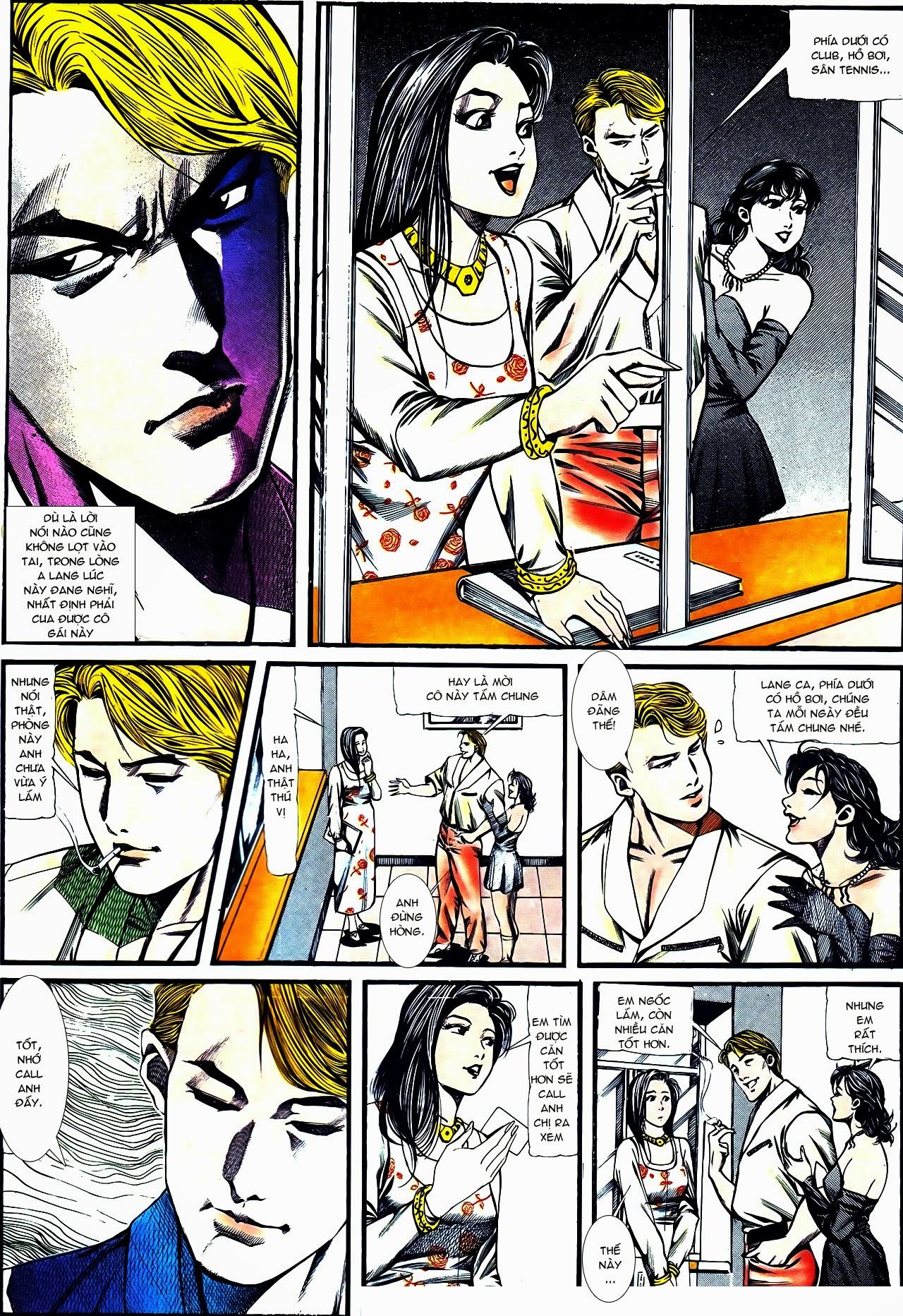 Người Trong Giang Hồ chapter 122: phố dục lạc trang 16