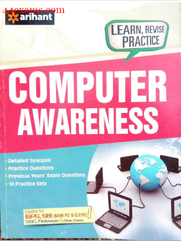 Computer Awareness By Arihant Publication : For All Competitive Exam PDF Book