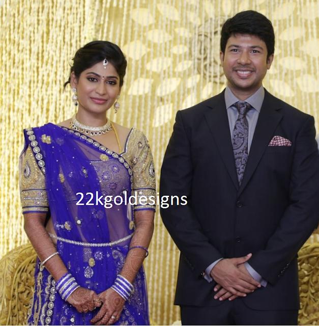 Actress Vijalakshmi feroz Reception Jewellery