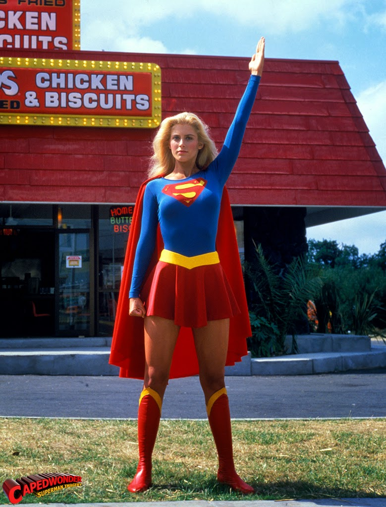 Helen Slater As Supergirl, 1984  Vintage Everyday-2353