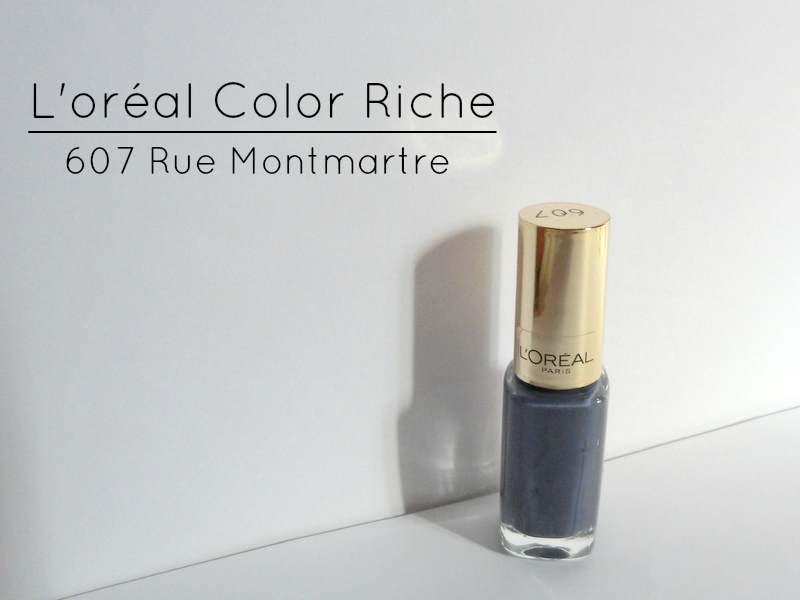 L'oréal Color Riche Nailpolish In Rue Montmartre - Review & Swatches