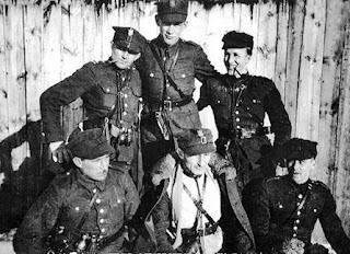 Hubalczycy w Gałkach Krzczonowskich w marcu 1940 r.