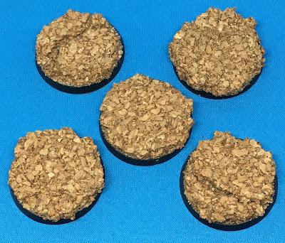Custom Cork Bases for the Adeptus Custodes