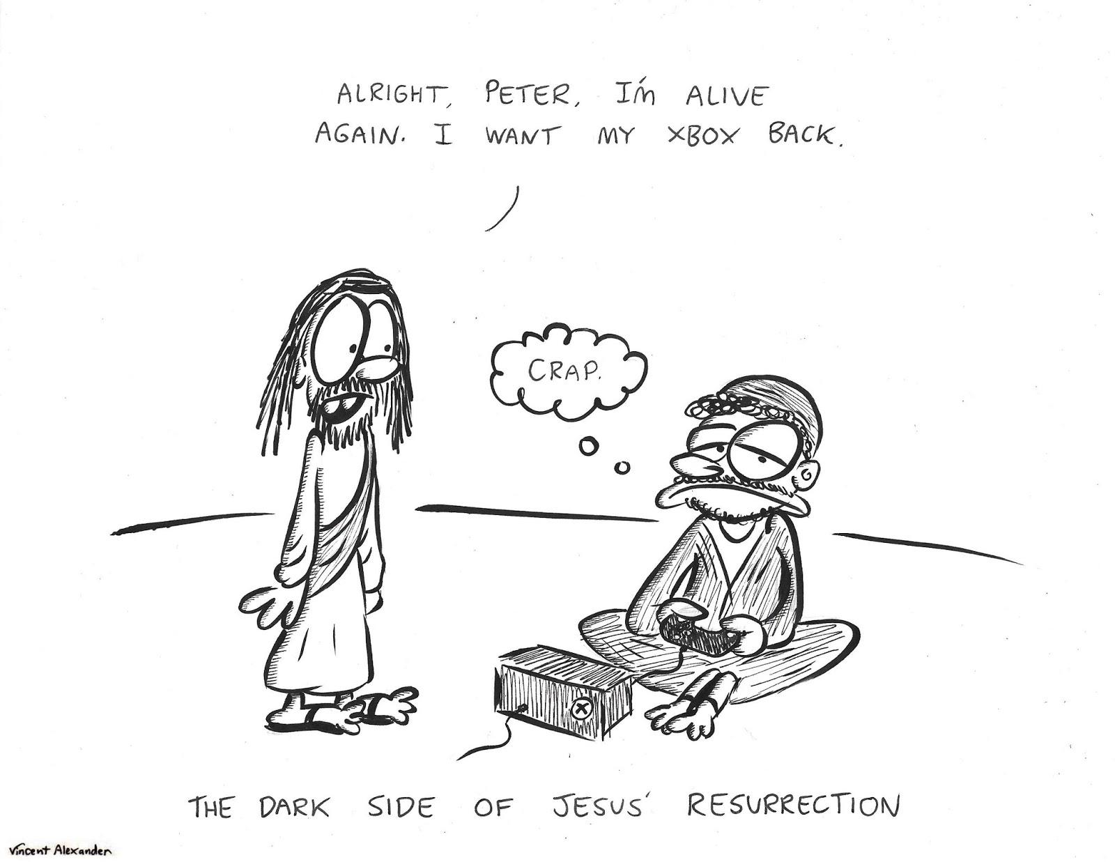 Vincent Alexander Cartoons Jesus Xbox