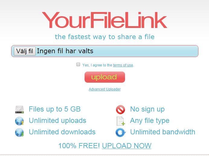 Skicka Stora Filer Gratis På Nätet