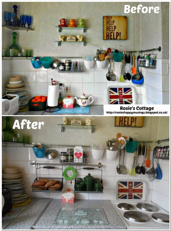 Ikea Kitchen Organization Before & After