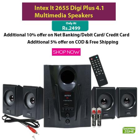 Online Shopping: Intex It 2655 Digi Plus 4 1 Multimedia