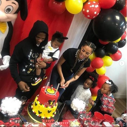 See Awesome Photos From The Birthday Party Of Wizkid's Son, Zion