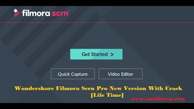 Wondershare Filmora Scrn Pro New Version With Crack Full Version - 2018