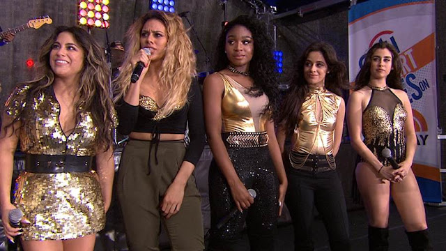 "Fifth Harmony canta tres canciones en el programa ""Today"" (VIDEOS)"