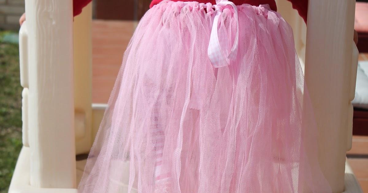51ee902fcc Chica Perika  Cómo hacer otra falda de tul o tutú sin costuras o