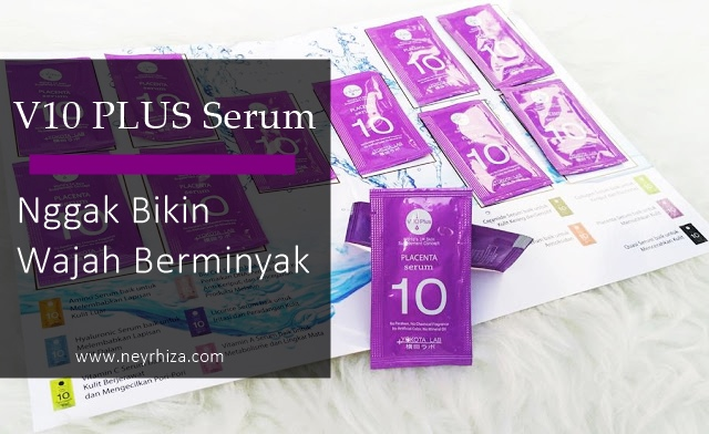 V10 PLUS SERUM PENCERAH WAJAH
