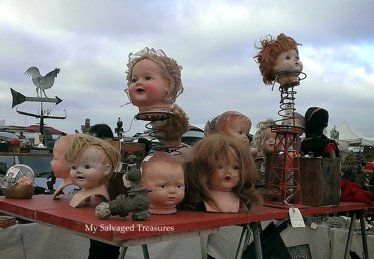 scary doll heads