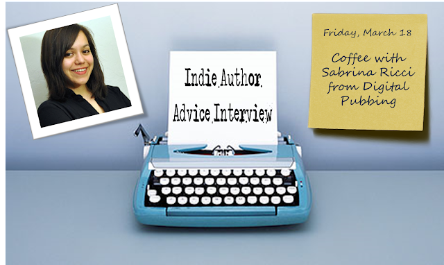 Indie Author Advice, Interview, Sabrina Ricci, Digital Pubbing