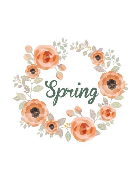 Free Spring Printable - Artwork to help welcome spring into your home. | sprinkledwithcolor.com