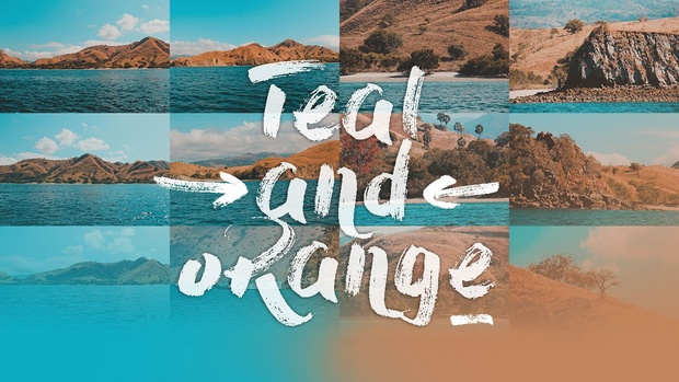 Free Teal & Orange Lightroom Preset Pack
