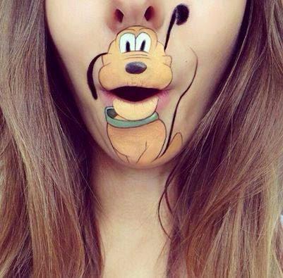 Pluto body painting