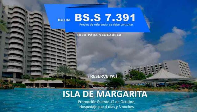 imagen plan de viaje Isla margarita 12 de Octubre
