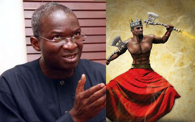 Even Sango cannot 1kw of electricity - Power minister Fashola