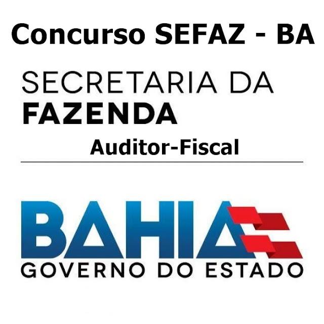 Concurso para auditor fiscal SEFAZ- BA abre inscrições para 60 vagas